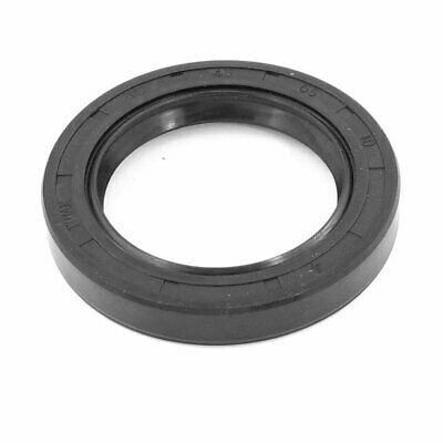 Black Rubber Oil Resistant Water Pump Shaft Seal 65mm x 45mm x 10mm