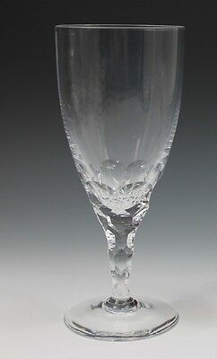 "ORREFORS CRYSTAL ""CARINA"" PATTERN Water 7 1/4"" Tall GOBLET"