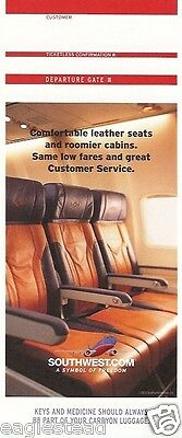 Ticket Jacket - Southwest - Leather Seats - 2004 (J1447)