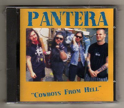 PANTERA - COWBOYS from HELL -  CD LIVE 1992 - NO CDr -SEALED  MINT!
