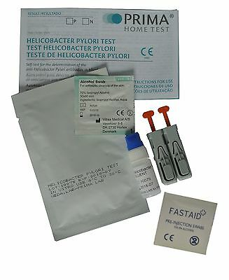 Prima Helicobacter H Pylori - Stomach Ulcer Infection Test - Ce Approved