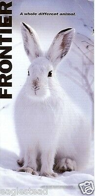 Ticket Jacket - Frontier - Snowshoe Hare - NO White Border - 2008 (J1464)