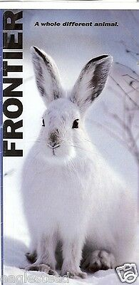 Ticket Jacket - Frontier - Snowshoe Hare - with White Border - 2008 (J1463)