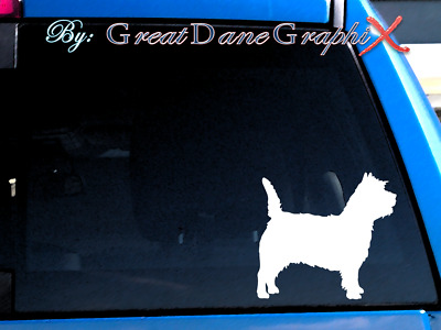 Cairn Terrier #1 Vinyl Decal Sticker / Color Choice - HIGH QUALITY