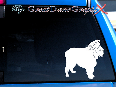 Brussels Griffon #1 Vinyl Decal Sticker / Color Choice - HIGH QUALITY
