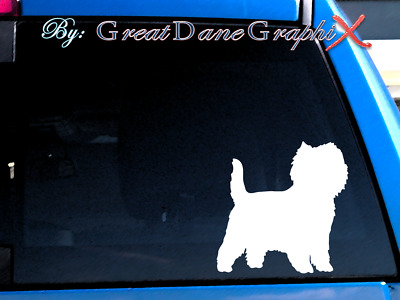 Cairn Terrier #2 Vinyl Decal Sticker / Color Choice - HIGH QUALITY