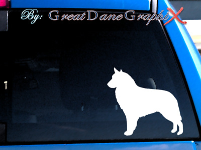 Belgian Sheepdog VVinyl Decal Sticker / Color Choice - HIGH QUALITY