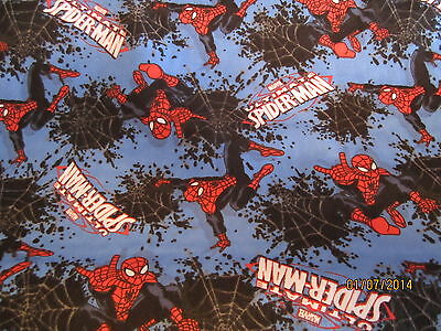 Spiderman baby toddler sheets set  flannel