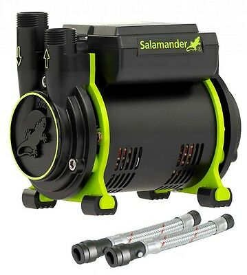 SALAMANDER CT85 XTRA Positive Single Shower Pump 2.5 Bar CT85XTRA + Hoses