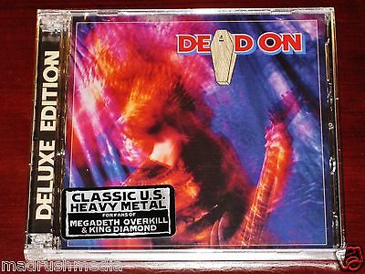 Dead On: S/T, All Four You, The Limit Deluxe Edition 2 CD Set 2012 Divebomb NEW