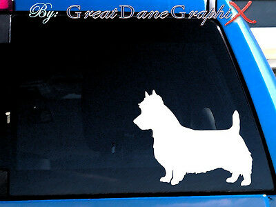 Australian Terrier #2 Vinyl Decal Sticker / Color Choice - HIGH QUALITY