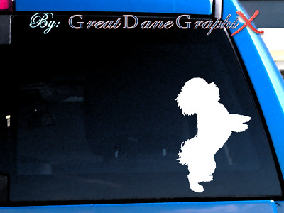 Bichon Frise #1 Vinyl Decal Sticker / Color Choice - HIGH QUALITY