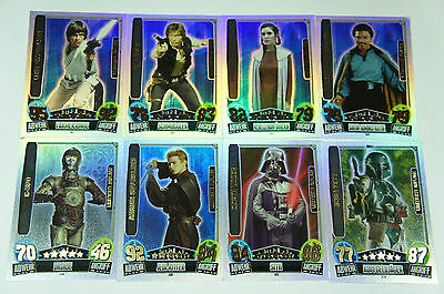 Force Attax Movie Serie 3 aussuchen aus LE1 - LE11 Limitierte Auflage Star Wars