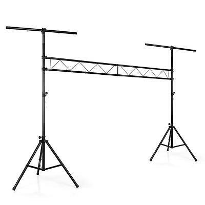 DISCO STAGE LIGHT RIG STAND MOBILE DJ LIGHTING SET 120kg MAX ADJUSTABLE HEIGHT