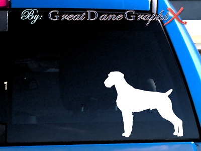 German Wirehaired Pointer Vinyl Decal Sticker / Color Choice - HIGH QUALITY