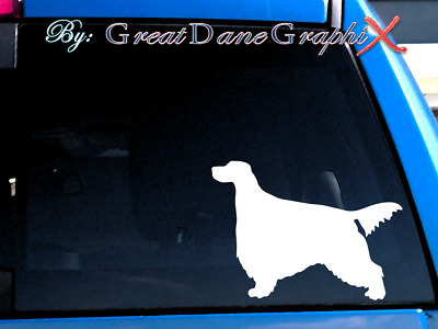 Gordon Setter - Vinyl Decal Sticker / Color Choice - HIGH QUALITY