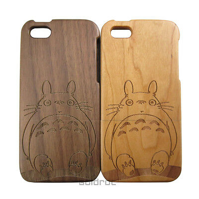 4pcs/Lot Carving Design Bamboo Wooden Hard Back Wood Case Cover for iPhone 5 5S