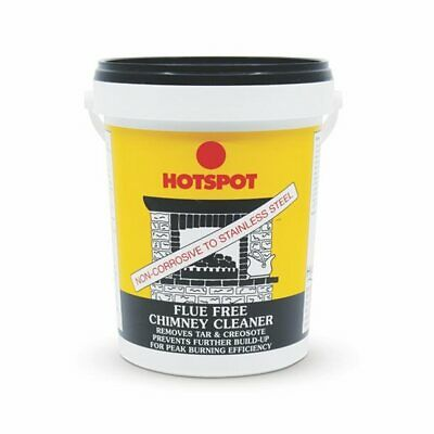 Hotspot Flue Free Chimney Cleaner 750g - Removes Tar and Creosote Deposits