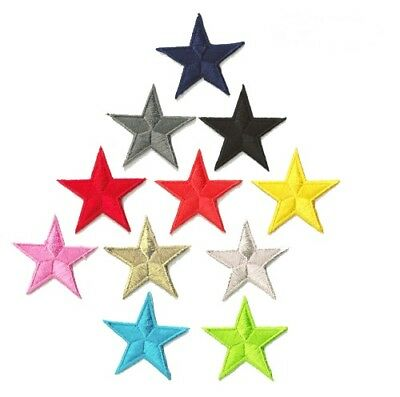 Patch écusson patche étoile Star 45 mm diamètre couleur au choix thermocollant