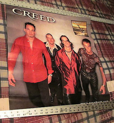 Creed - Human Clay - 2-Sided Promo Poster - Heavy Stock ---K @@ L