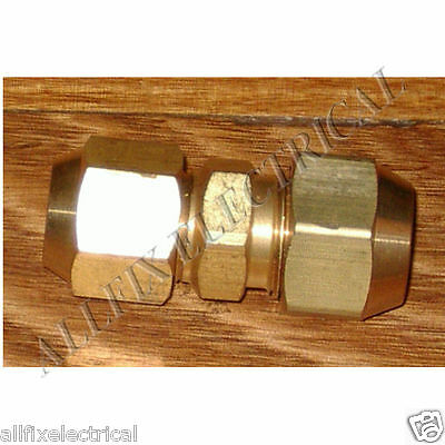"Brass 5/8"" to 1/2"" Reducing Union With Flare Nuts - Part # RF705KIT"