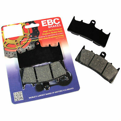 EBC Organic Front Brake Pads For Triumph 1998 Trophy 1200 FA236