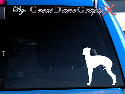 Italian Greyhound #1 Vinyl Decal Sticker / Color Choice - HIGH QUALITY