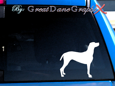Hungarian Vizsla Vinyl Decal Sticker / Color Choice - HIGH QUALITY