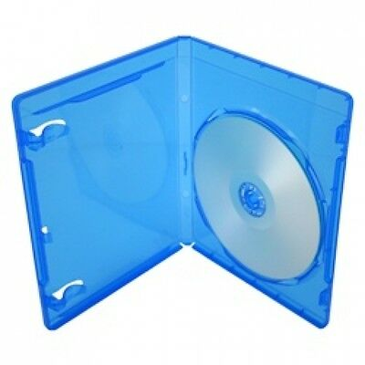 100 PREMIUM STANDARD Blu-Ray Single DVD Cases 12MM