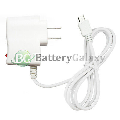 20 HOT NEW Micro USB Home Wall Charger for Android Samsung Galaxy Note 1 2 3 4 5