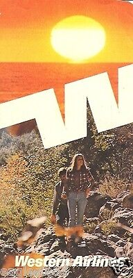Ticket Jacket - Western - Male Female Hikers at Sunset - 1973 (J1572)