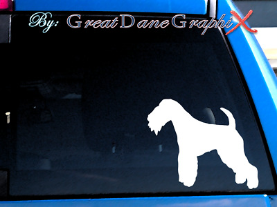 Lakeland Terrier #1 Vinyl Decal Sticker / Color Choice - HIGH QUALITY