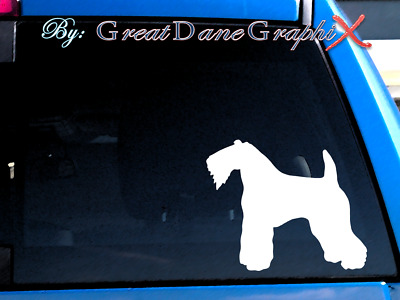 Kerry Blue Terrier Vinyl Decal Sticker / Color Choice - HIGH QUALITY