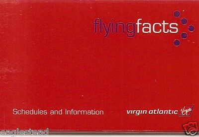 Airline Timetable - Virgin Atlantic - 29/10/00 - S