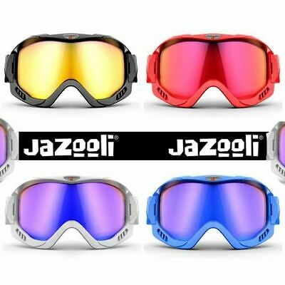 58ac19abcb3 Ski Skiing Snow Snowboard Snowboarding Goggles with Vented Clear Mirror UV  Lens
