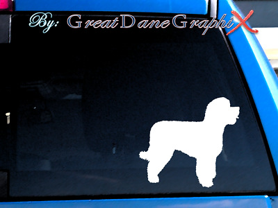 Portuguese Water Dog #1 Vinyl Decal Sticker / Color Choice - HIGH QUALITY