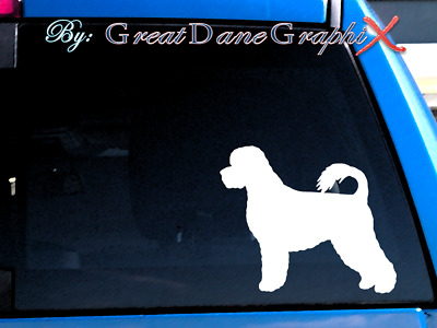 Portuguese Water Dog #2 Vinyl Decal Sticker / Color Choice - HIGH QUALITY
