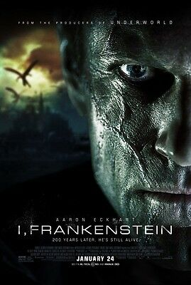 I Frankenstein - original DS movie poster - 27x40 D/S - 2014 FINAL