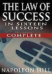 The Law of Success - Complete by Napoleon Hill (2007, Hardcover)