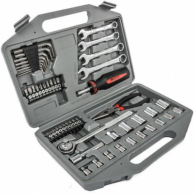 JEGS Performance Products W1542 55-Piece Mechanics Tool Kit