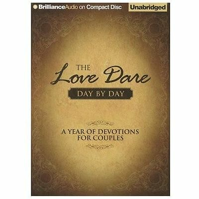 The Love Dare Day by Day : A Year of Devotions for Couples by Alex Kendrick...