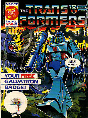 TRANSFORMERS #98 - 1987 - Marvel Comics Group UK