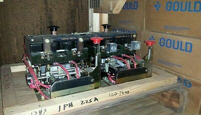 225 amp 120/240 volt coil 1 phase 307-1383 ONAN TRANSFER SWITCH DUAL CONTACTOR
