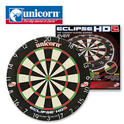 Eclipse Pro HD 2 PDC TV Edition Dartboard by Unicorn
