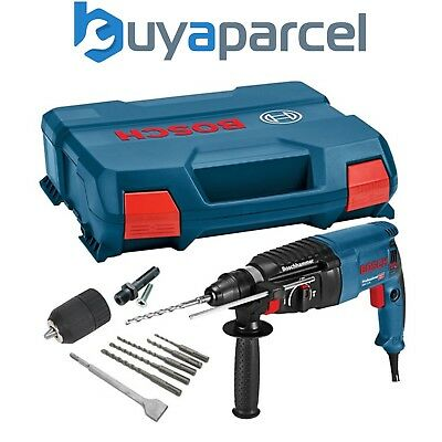 Bosch GBH224D 240v SDS+ SDS PLUS Rotary Hammer Drill + SDS BITS CHISEL + Chuck