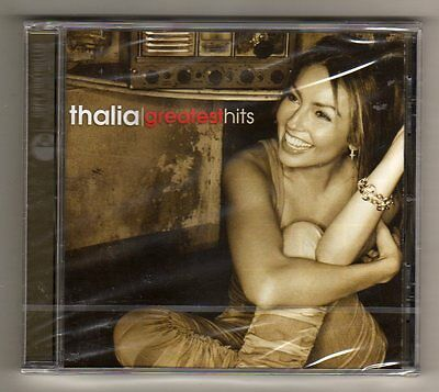Thalia - GREATEST HITS   -  CD LIMITED EDITION EU - SEALED MINT