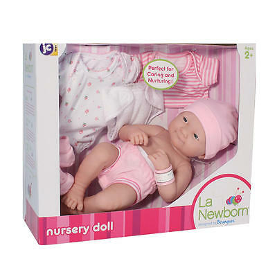 La Newborn 14 inch Nursery Doll Color/ Styles Vary