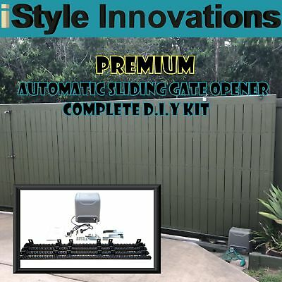 Ultimate Pakcage - Heavy Duty Automatic Sliding Gate Opener - Complete D.i.y Kit