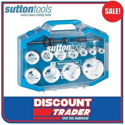 Sutton H114 Viper HSS Bi-Metal Holesaw Maintenance Set - H114S14