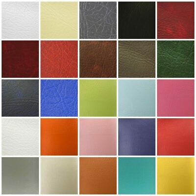 Leatherette Vinyl Upholstery Fabric Fire Retardant Faux Leather 140cm Wide